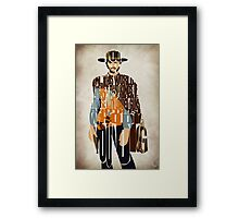Blondie- The Good, The Bad and The Ugly Framed Print