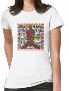 -MUSIC- Midnight Marauders Cover Womens Fitted T-Shirt