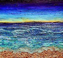 Island Dawn by Regina Valluzzi