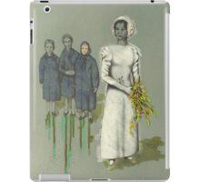My mother's wedding, 1968 iPad Case/Skin