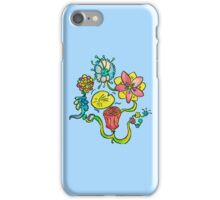A Collection of Church Mural Flowers iPhone Case/Skin