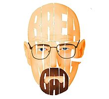 Breaking Bad - Walter White Face Photographic Print