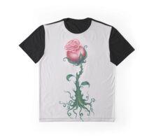 Rose Enchantment - Magic Vine Graphic T-Shirt