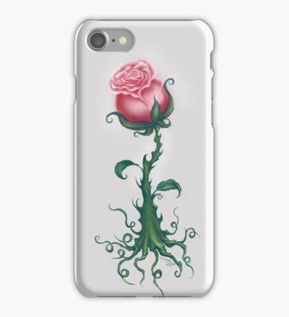 Rose Enchantment - Magic Vine iPhone Case/Skin