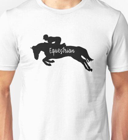 Equestrian Silhouette  Unisex T-Shirt