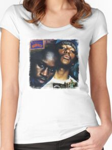 -MUSIC- The Infamous Cover Women's Fitted Scoop T-Shirt