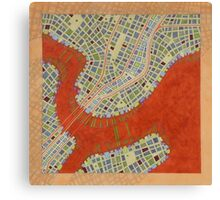 Cipher n. 14  (original sold) Canvas Print