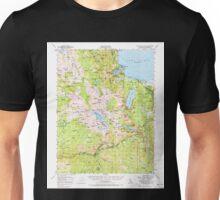 USGS TOPO Map California CA Fallen Leaf Lake 297457 1955 62500 geo Unisex T-Shirt