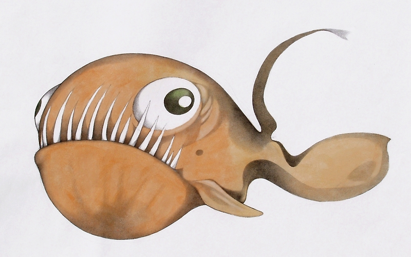 Strange fish       by federico cortese