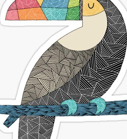 Tucan chilling Sticker