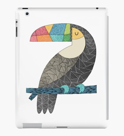 Tucan chilling iPad Case/Skin