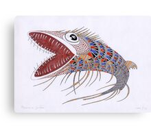Shark fish  (original sold) Canvas Print