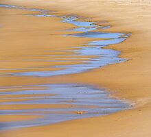 Coastal Abstract by Harry Oldmeadow
