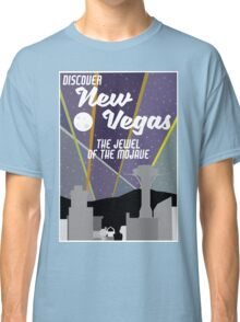 Vintage New Vegas Skyline Classic T-Shirt