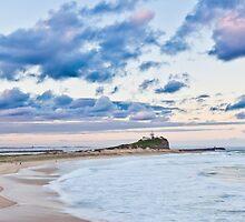 Nobbys Beach by RGA Photography