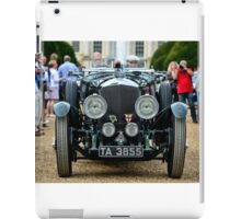 Chris Kingsbury's Speed Six at The Concours of Elegance 2014 iPad Case/Skin