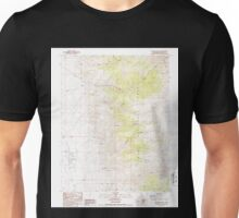 USGS TOPO Map California CA Chalfant Valley 289106 1987 24000 geo Unisex T-Shirt
