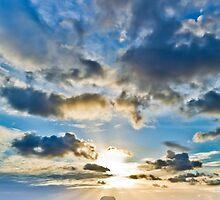 Merewether Baths Sunrise  by RGA Photography