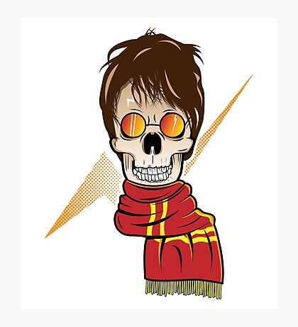 Skull Potter Photographic Print