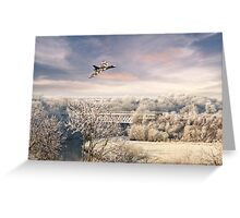Vulcan Winter  Greeting Card