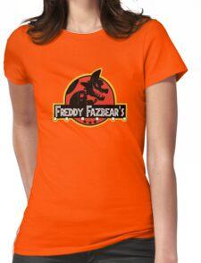 freddy fazbear's Womens Fitted T-Shirt