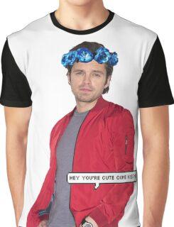 Sebastian Stan Graphic T-Shirt
