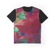 Crimson Overflow Graphic T-Shirt