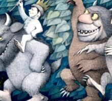 Where the wild things are Rumpus Sticker