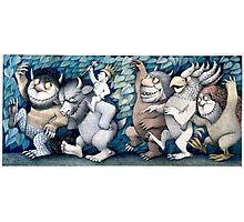 Where the wild things are Rumpus Photographic Print