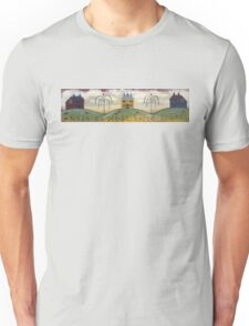 Primitive Saltbox Houses Unisex T-Shirt