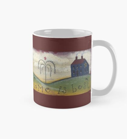 Primitive Saltbox Houses Mug