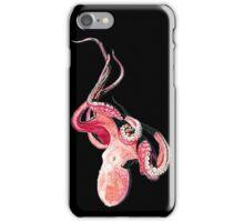 Red Octopus / Rote Krake iPhone Case/Skin