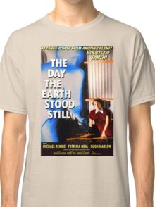 """Patricia Neal - """"The Day The Earth Stood Still"""" - Poster Classic T-Shirt"""