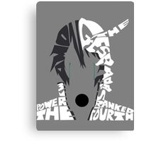 Ulquiorra typography Canvas Print