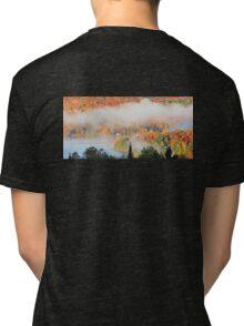Foggy Autumn Morning Tri-blend T-Shirt