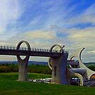 The Falkirk Wheel IV by Tom Gomez