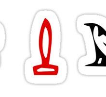 Lost Hieroglyphs (LOST TV Show) Sticker