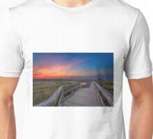 Boardwalk Sunset Unisex T-Shirt