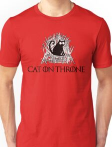 Cat on Throne Unisex T-Shirt