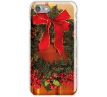 Christmas Wreaths iPhone Case/Skin