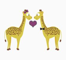 Giraffe Love Kids Tee