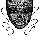 Day of The Dead Mask by Octavio Velazquez