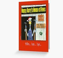 ho...ho...ho... Greeting Card