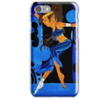 Sustah Girl Meditation iPhone Case/Skin