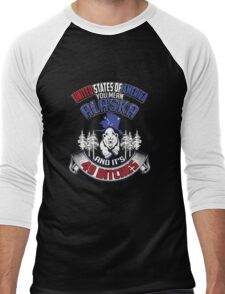 United States of America.  You mean Alaska and it's 49 bitches. Men's Baseball ¾ T-Shirt