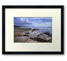 Greens Beach in HDR Framed Print
