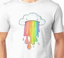 puking cloud rainbow Unisex T-Shirt