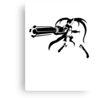 Black Rock Shooter Canvas Print