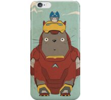 My Neighbour Iron Totoro iPhone Case/Skin
