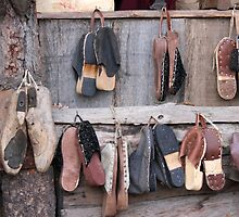 old wooden clogs by spetenfia